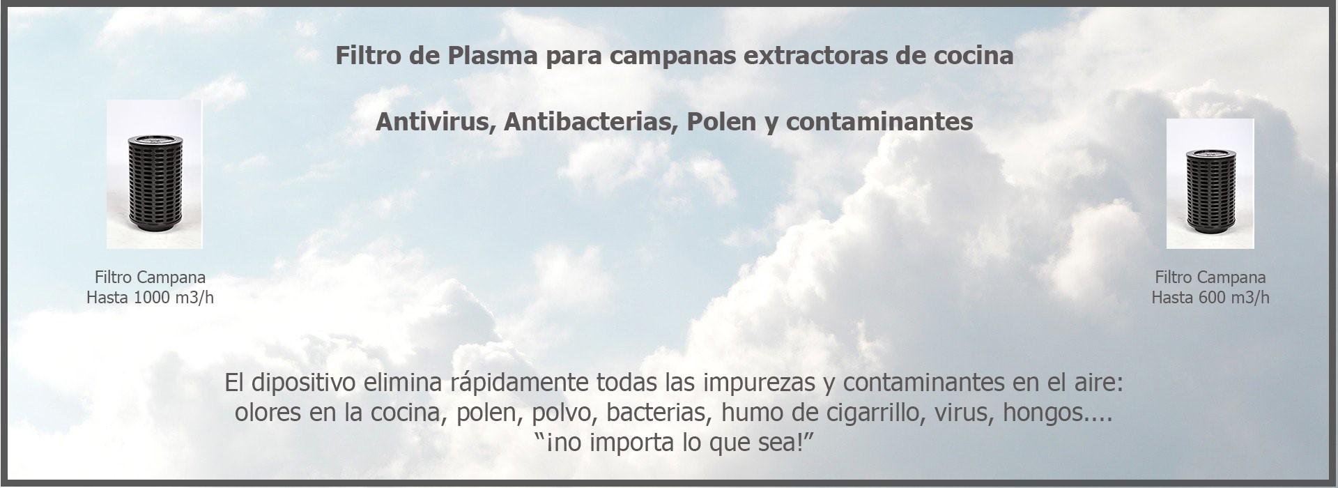filtro antivirus. Europa Electronic, SL.